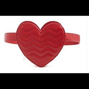 HEART- SHAPED BELT BAG